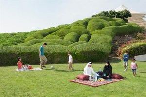 parks and gardens abu dhabi