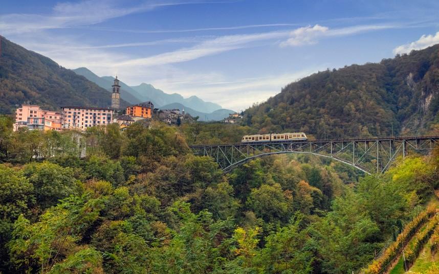 Switzerland Italy, Locarno-Domodossola