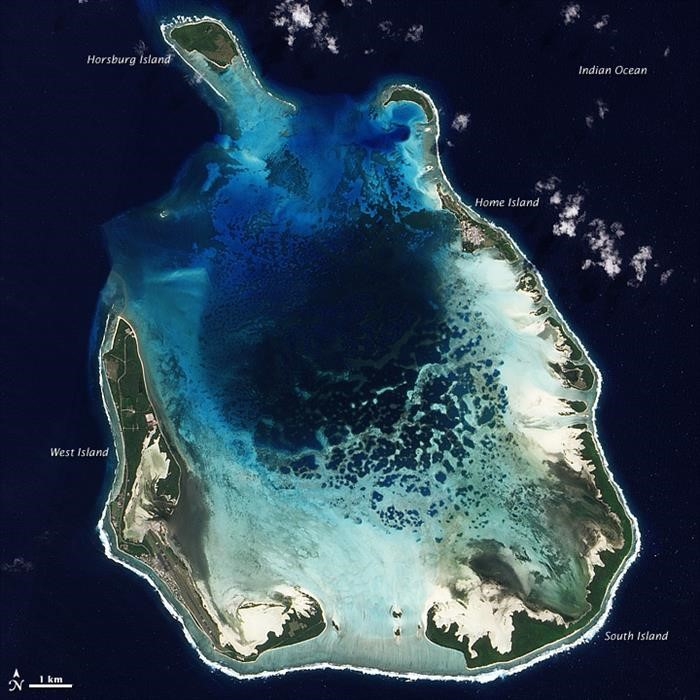 south keeling cocos islands